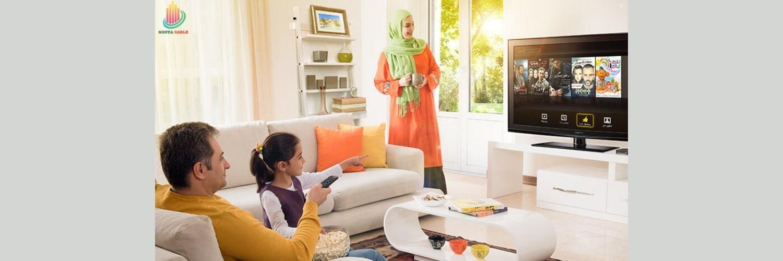 با کابل آنتن تماشای با کیفیت تلویزیون